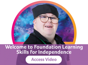 Skills for Independence button 1